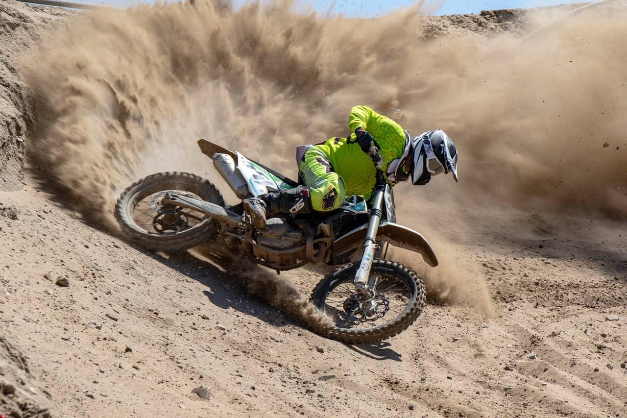 dirt bike riding