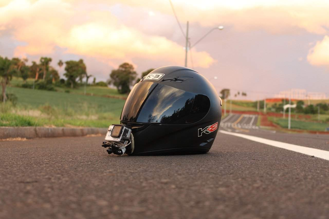 road helmet close