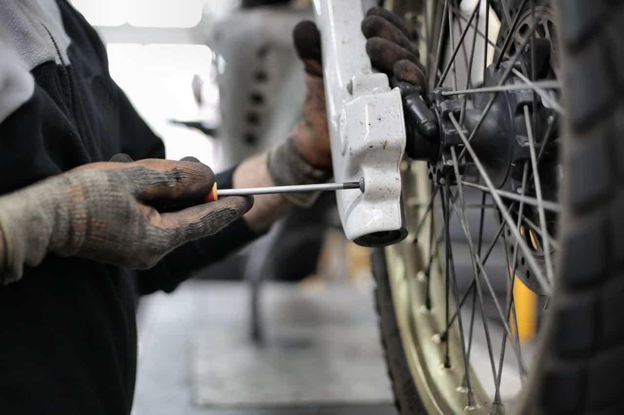 motorcycle repair tire