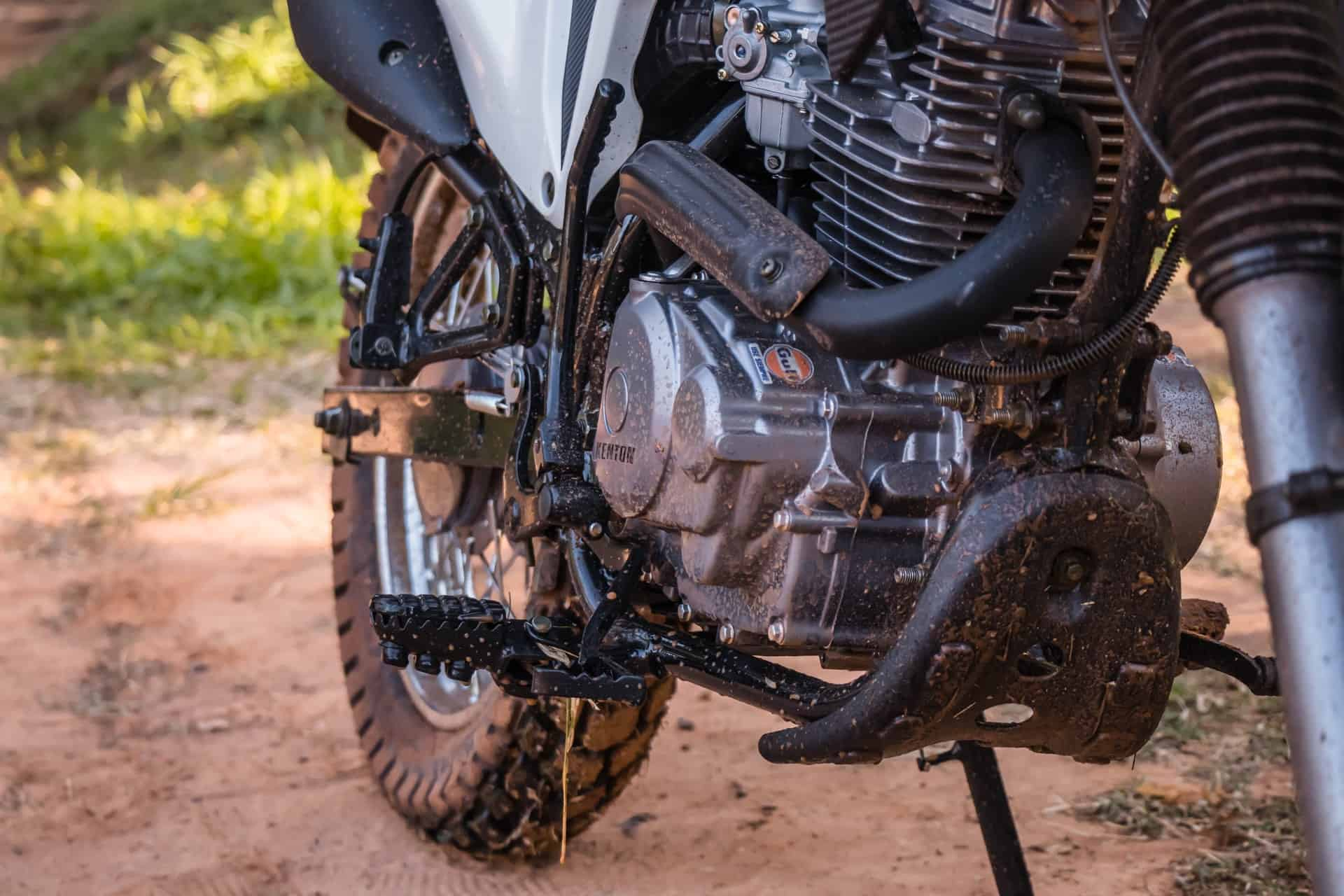 cylinder muddy engine bike
