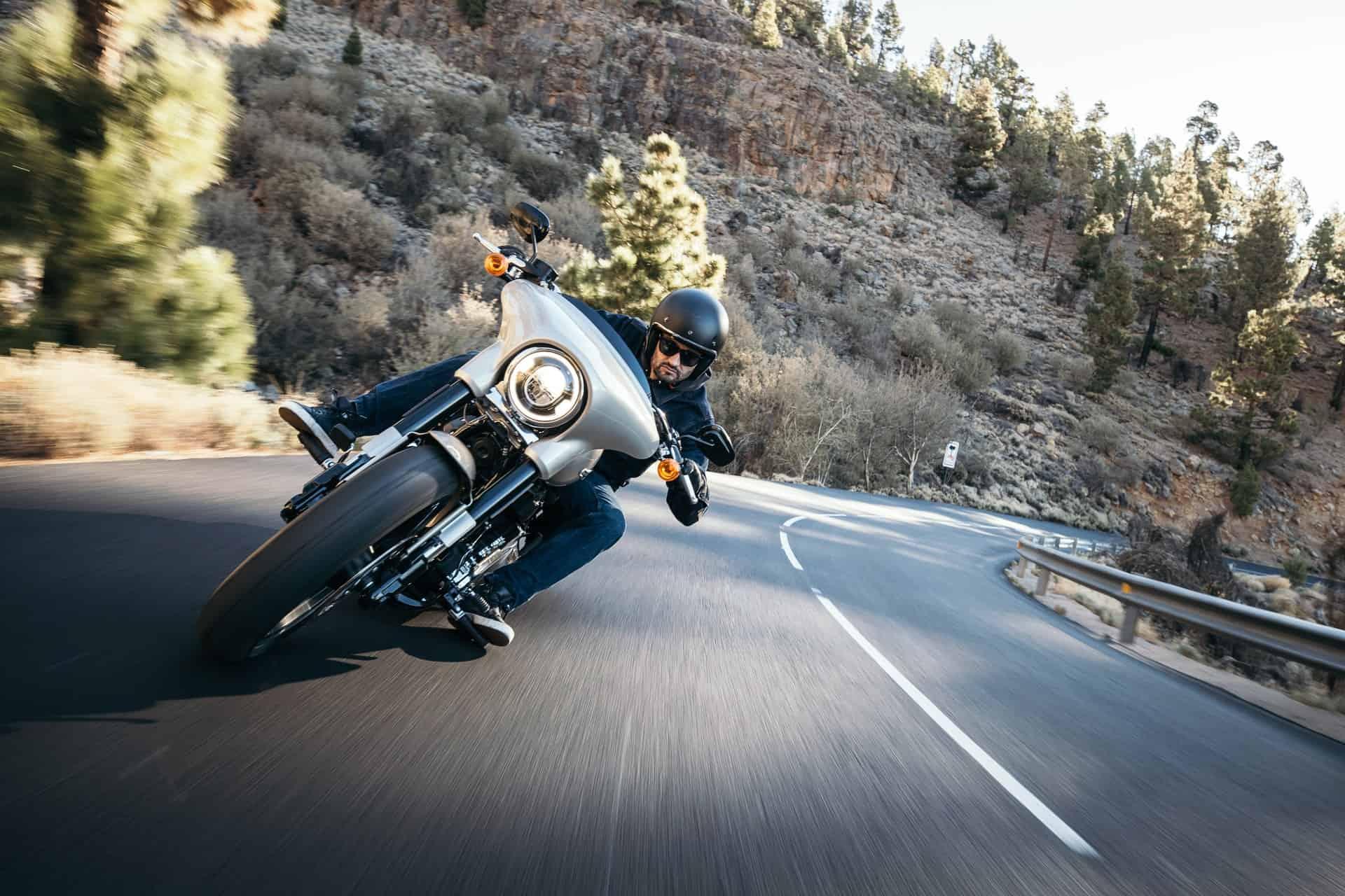 long trip rider road