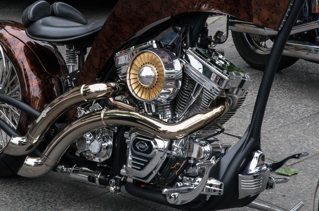 motorcycle repair engine