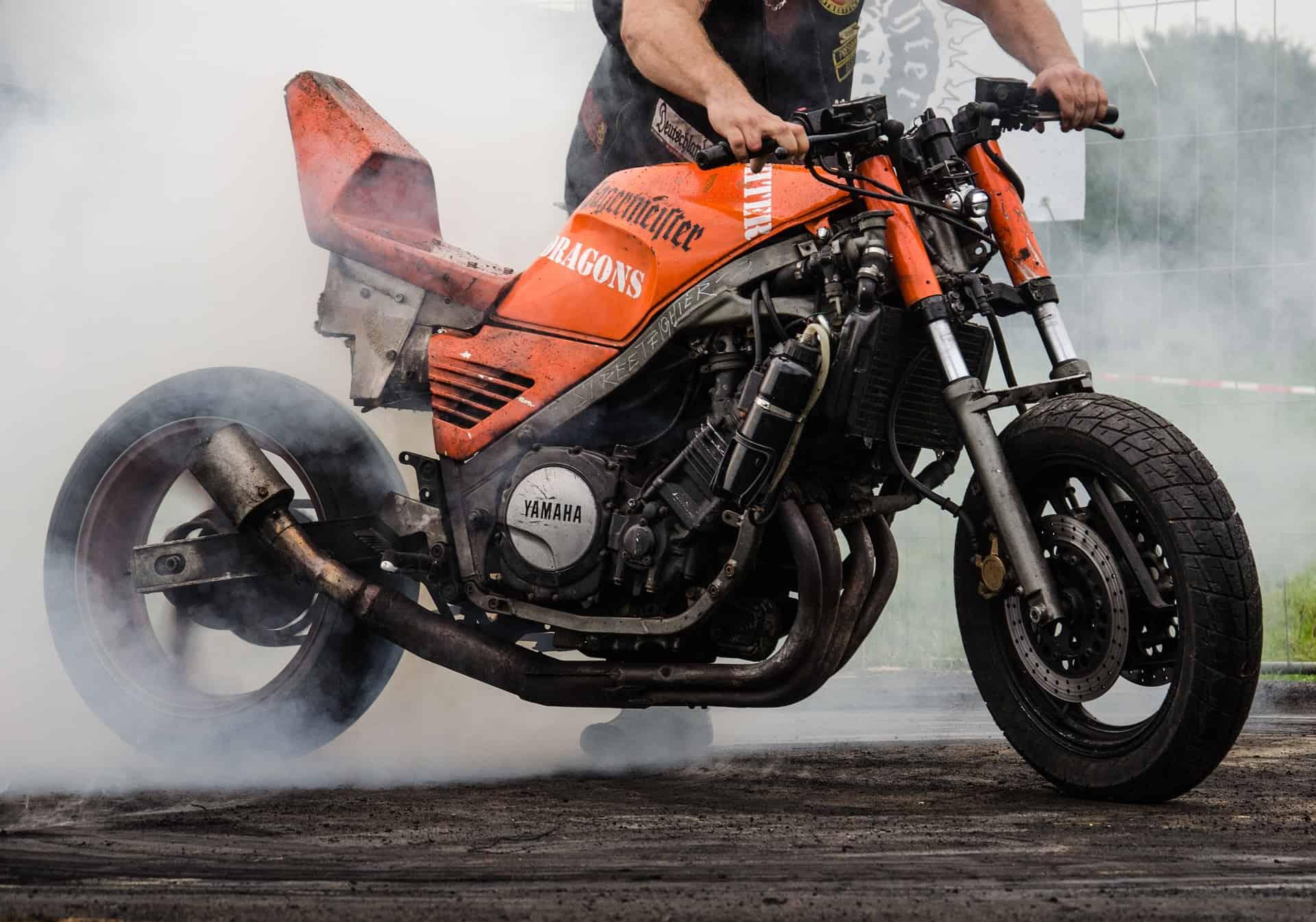 loud motorcycle man