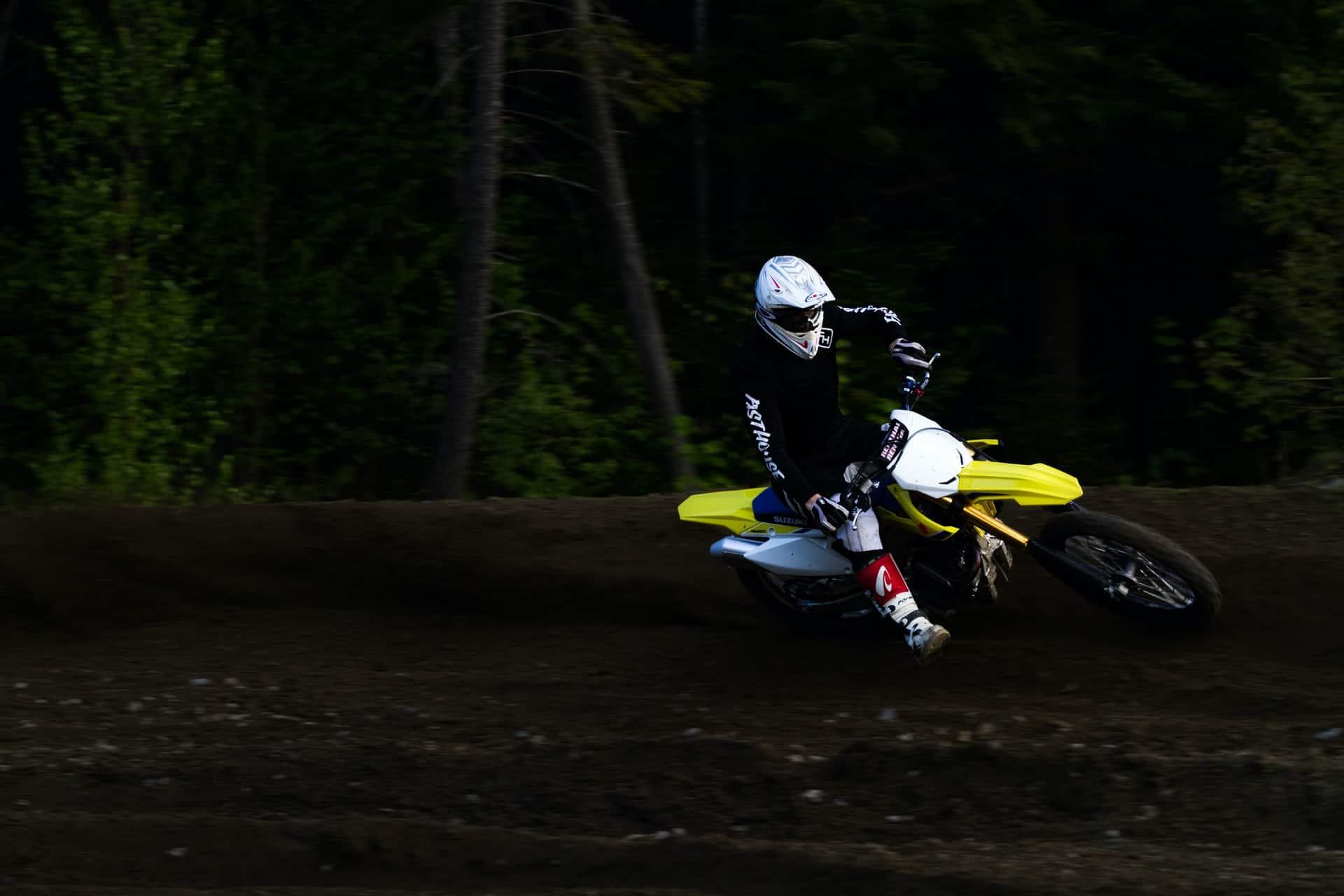 skilled rider motorcycle