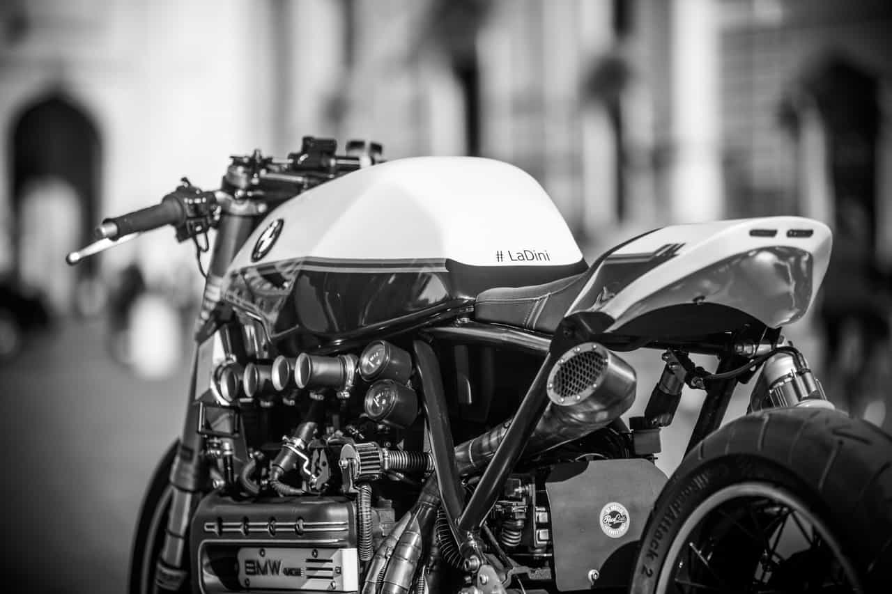 engine monochrome bike