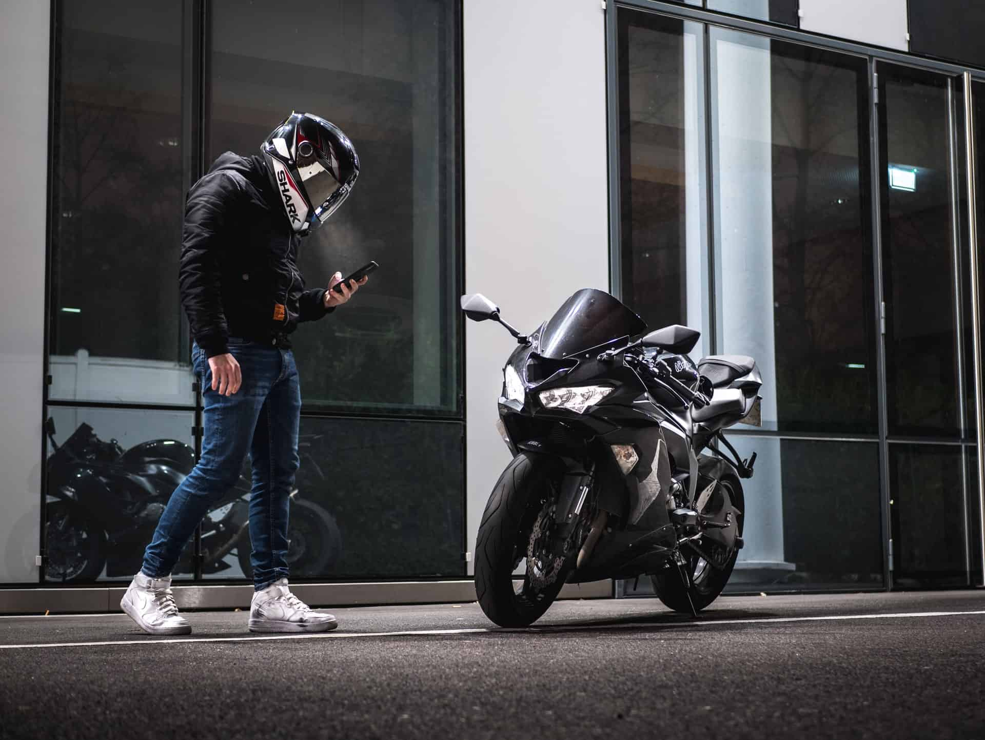 fashion shoes motorcycle rider