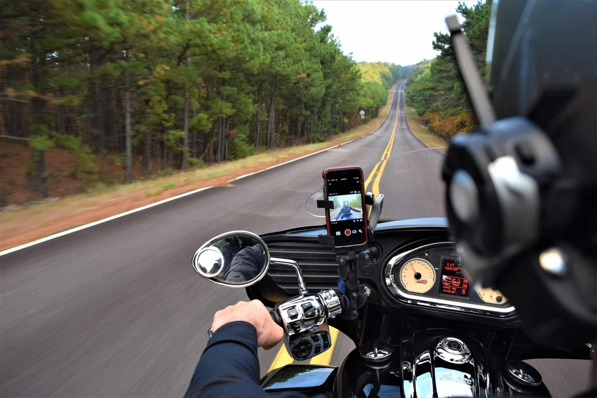 helmet with intercom phone