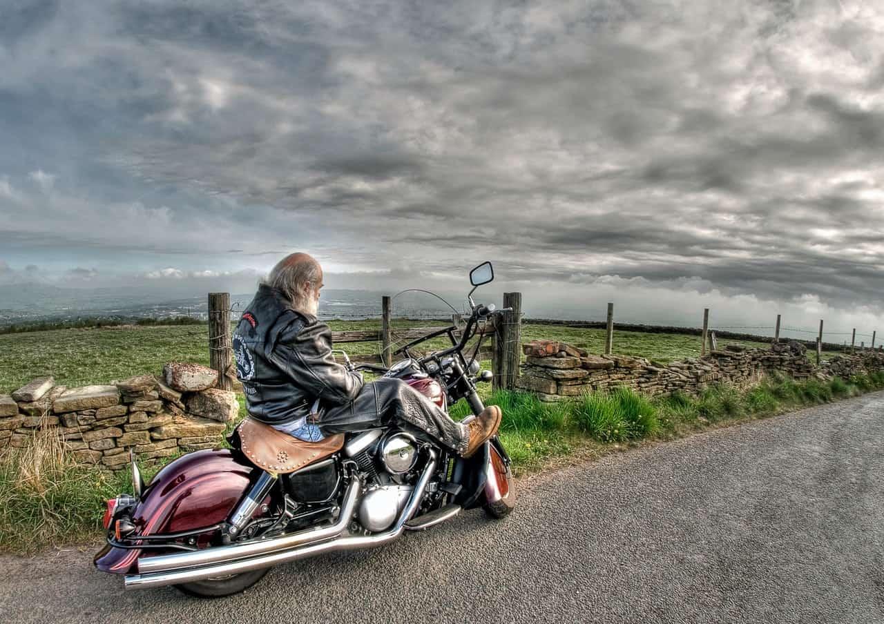 textile jacket rider