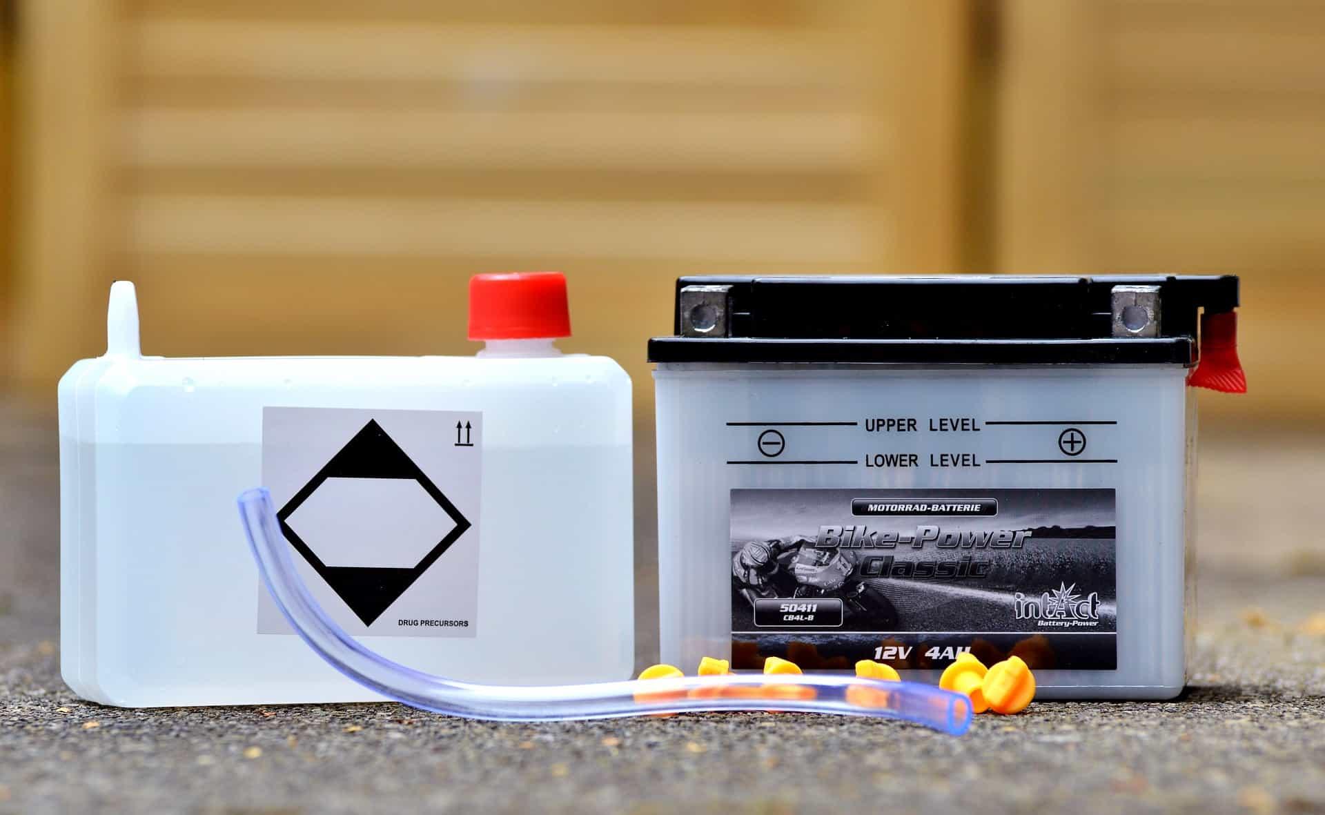 liquid gel battery
