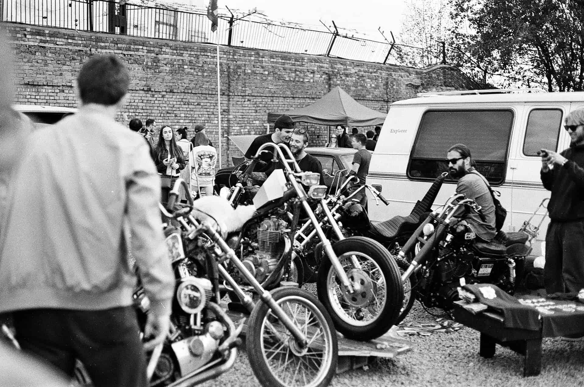 monochrome bikers club