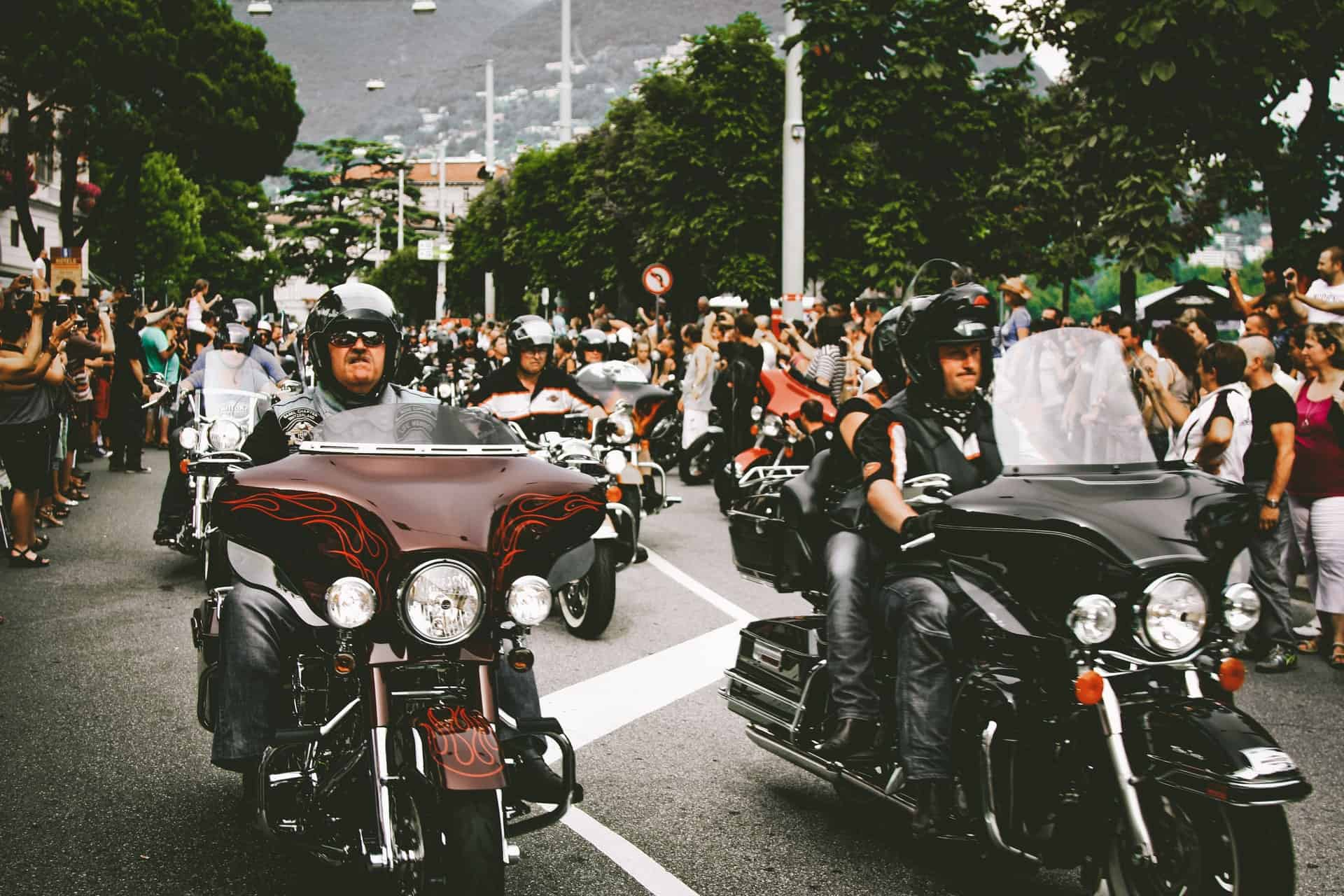motorcycle riders event