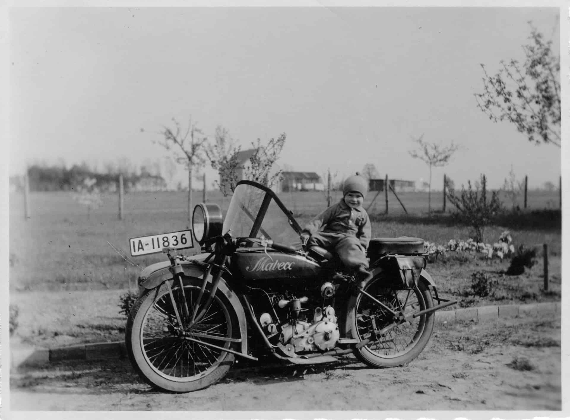 vintage photo motorcycle