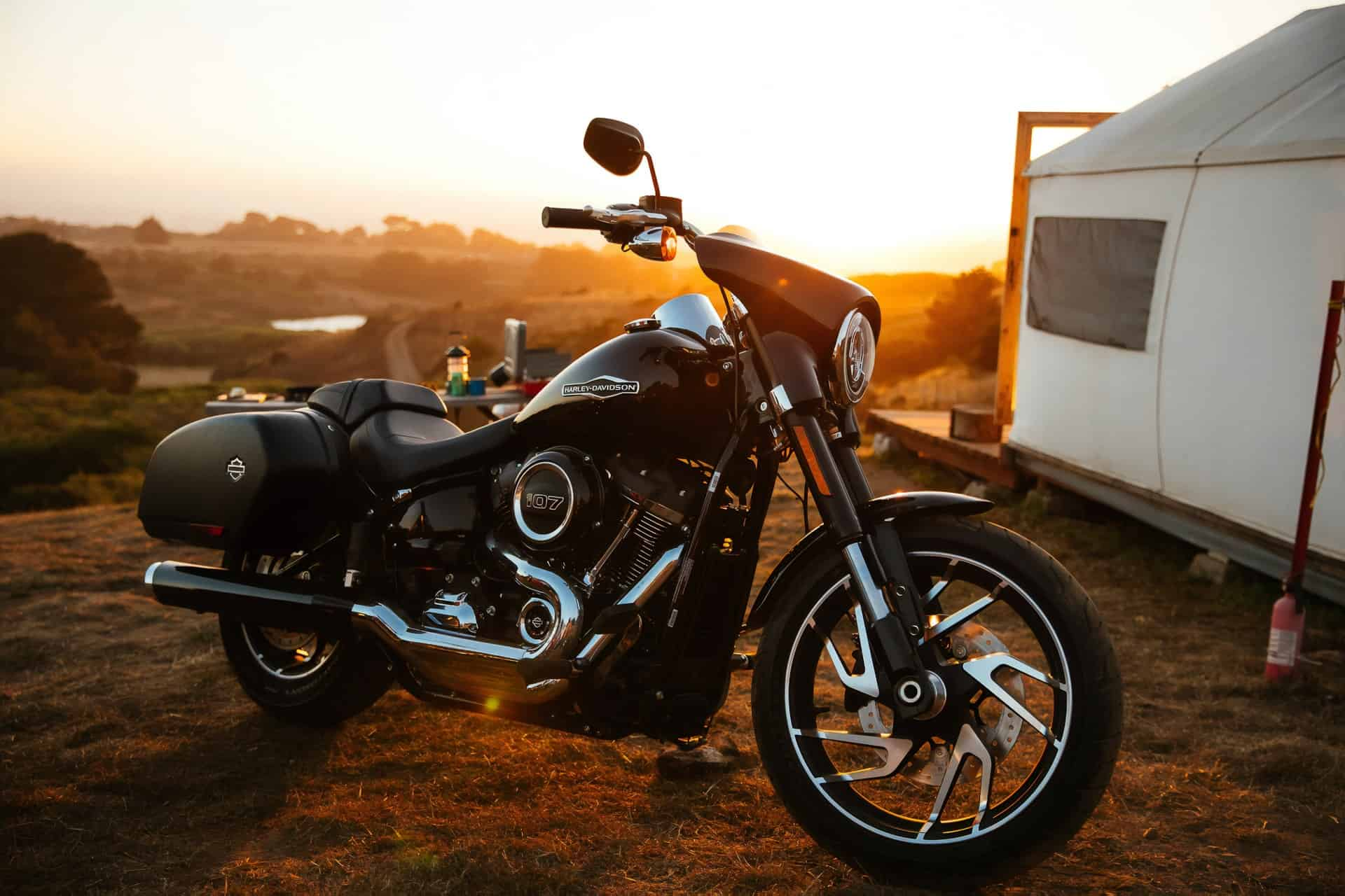 harley sunset new motorcycle