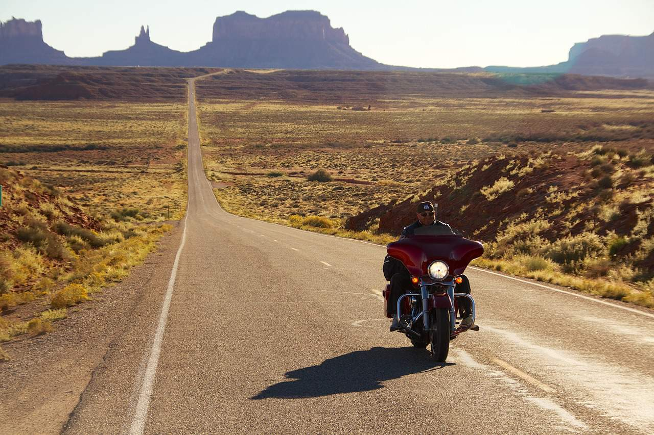 long road harley