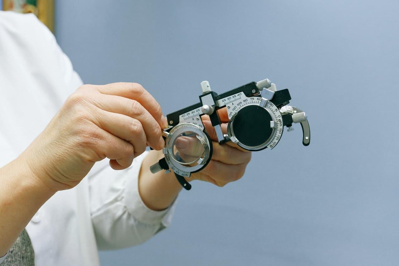 vision test doctor
