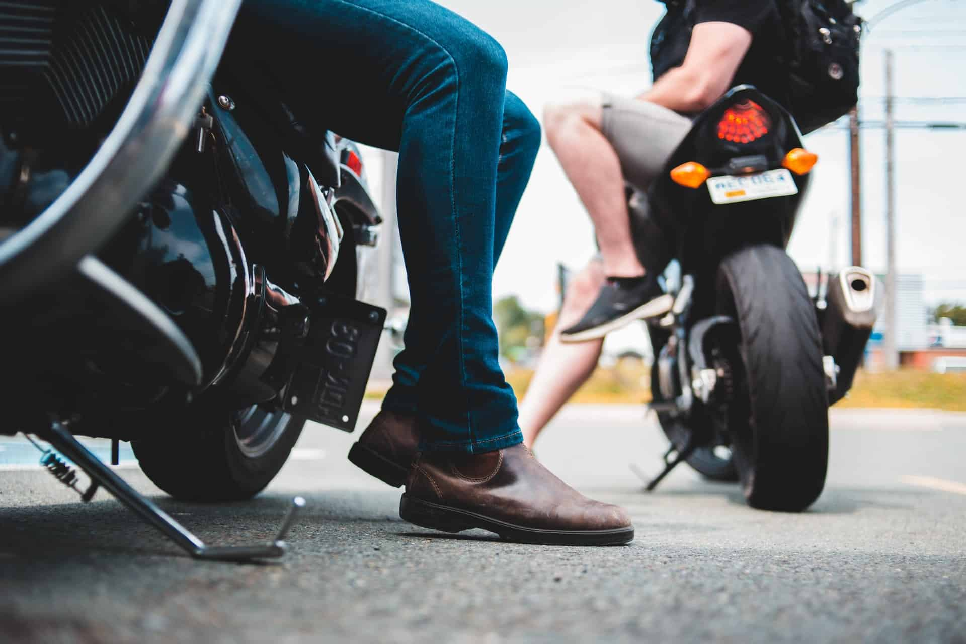 motorcycle shoes brown