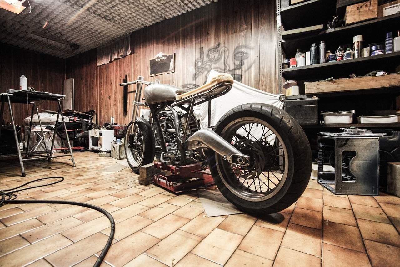 repair station motorcycle