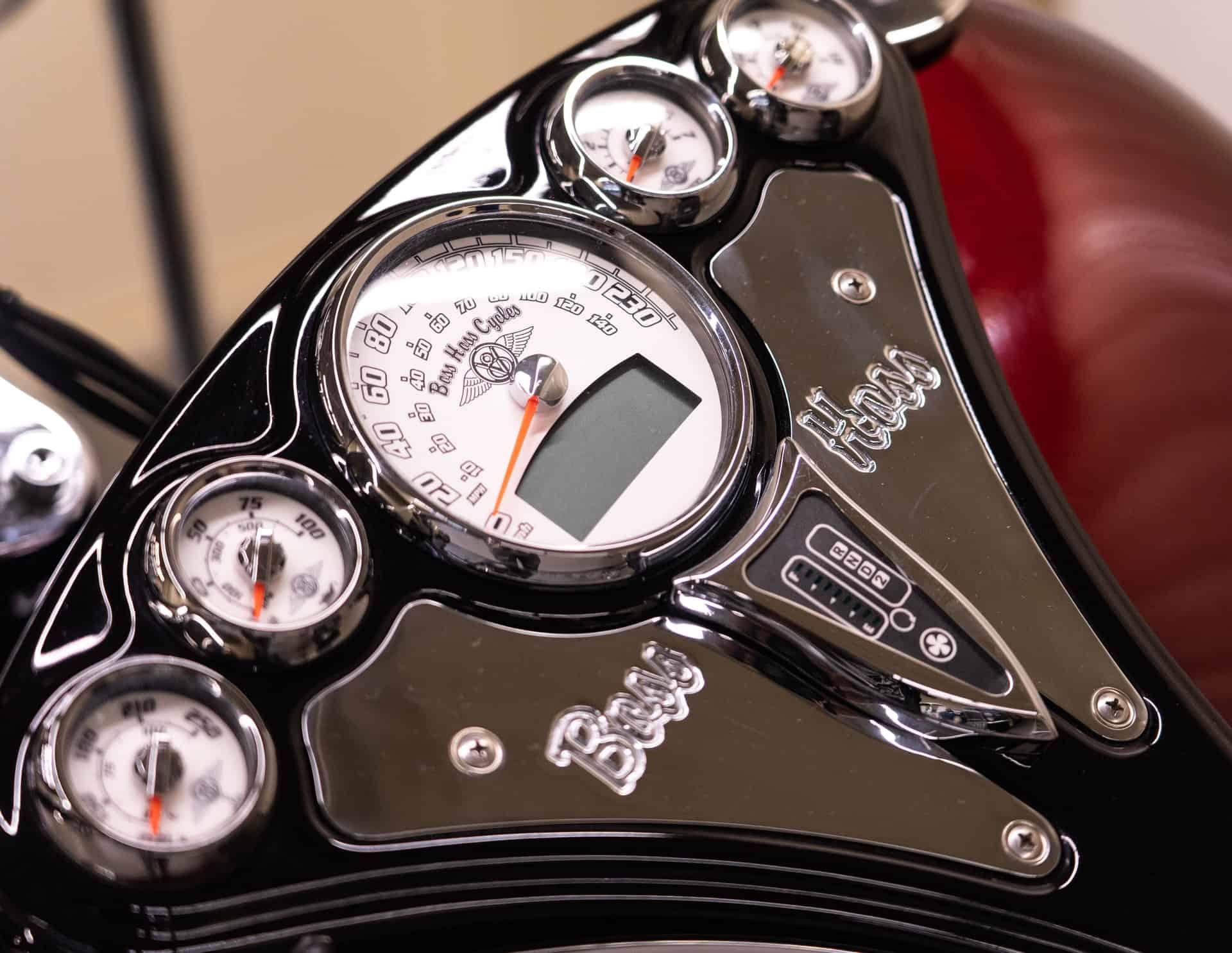 odometer used motorcycle