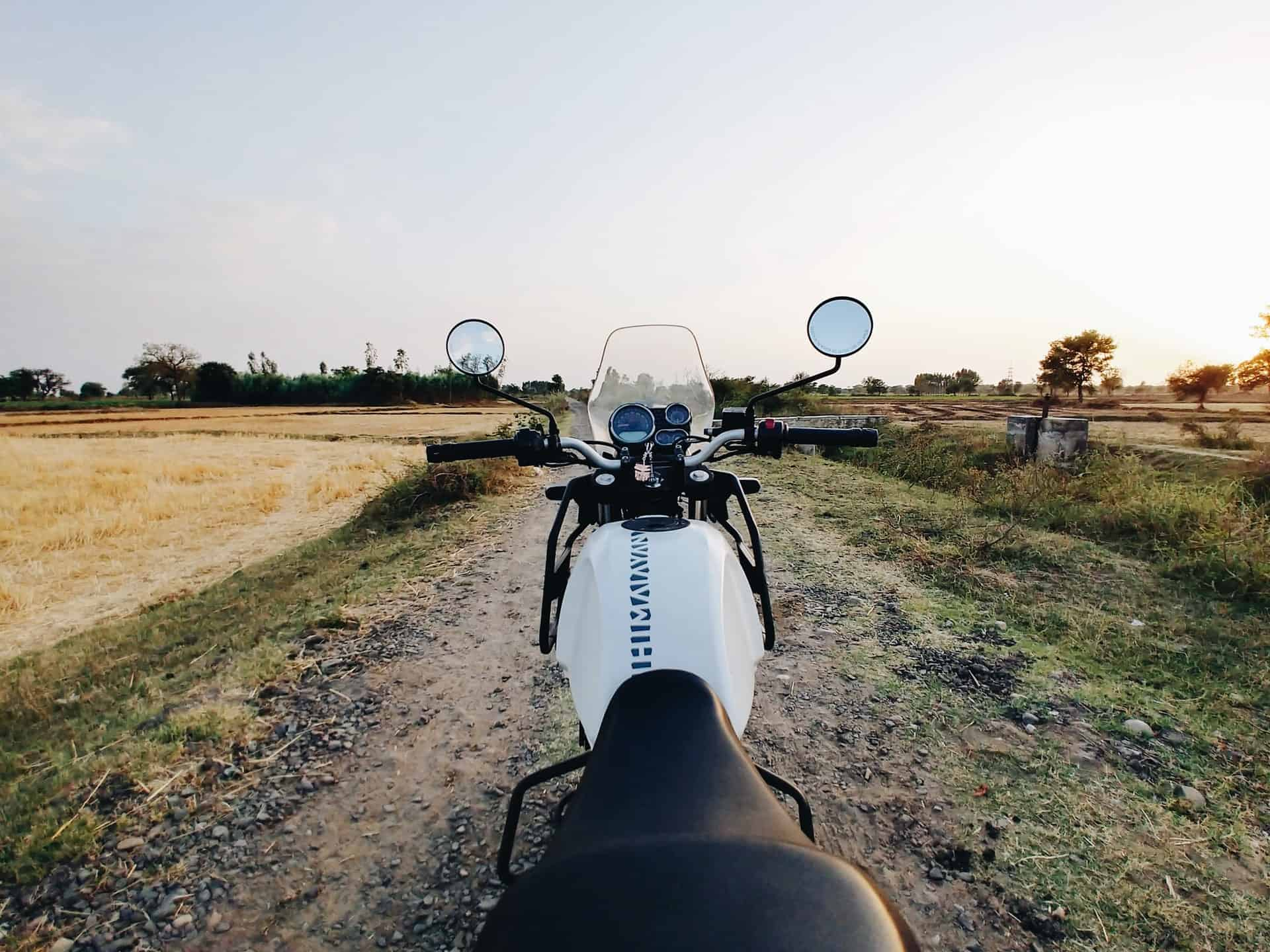 off road travel motorcycle