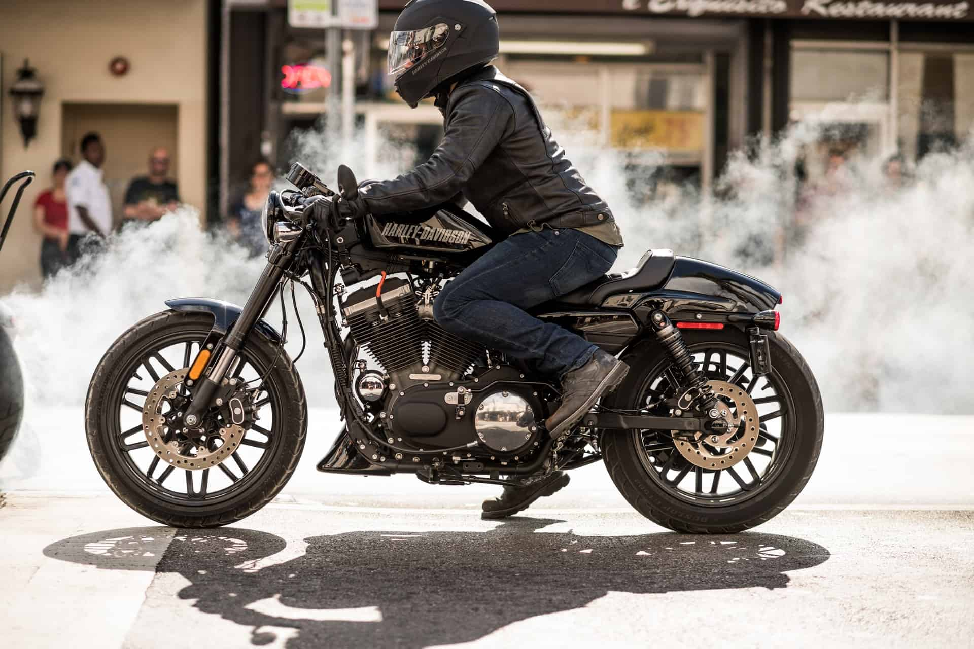 smoke acceleration motorcycle