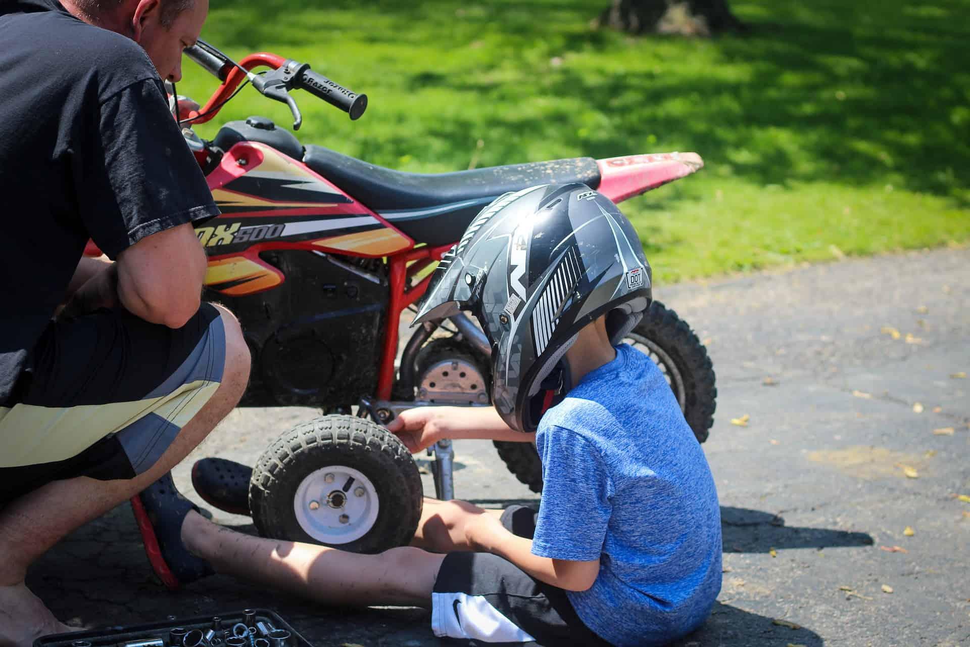 dad boy bike