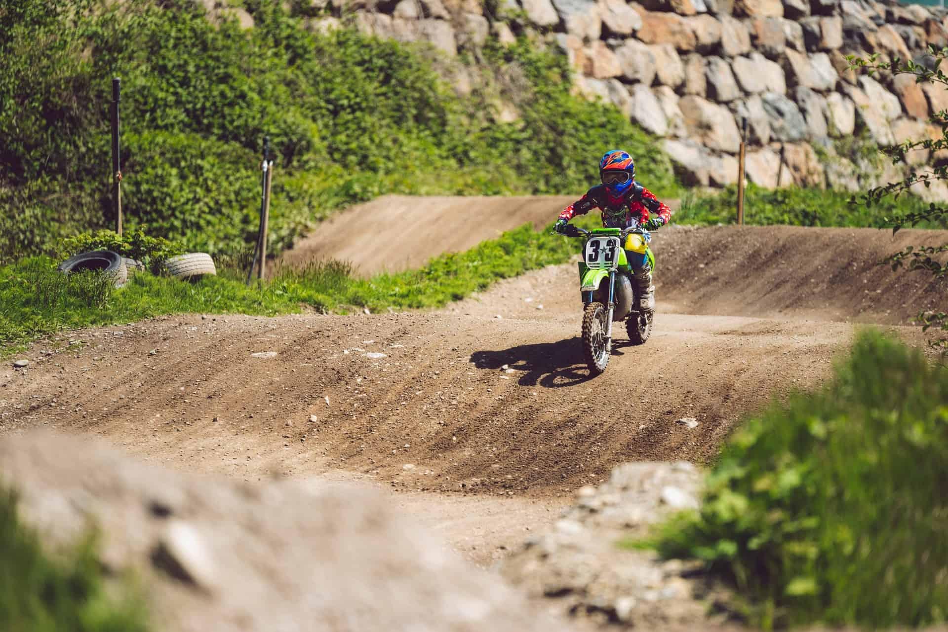 full gear boy dirt bike